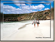 Sandy Beaches of Kangaroo Island - Click for a larger Image