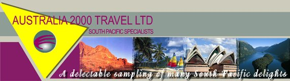 travel packages for Australia & the south pacific
